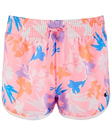 Toddler Girls Floral-Print Shorts