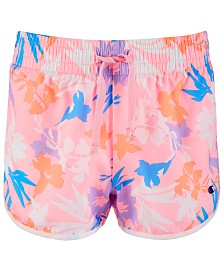 Champion Little Girls Floral-Print Shorts