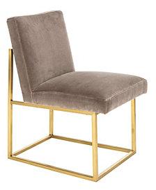 Jenette Velevet Side Chair