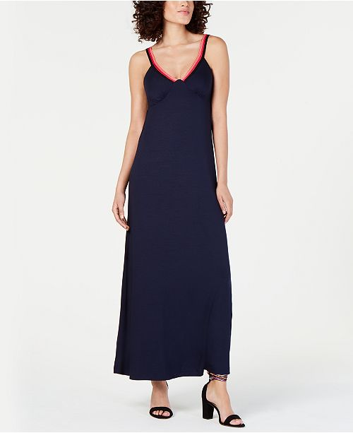 3cc5ae469b021 Trina Turk Smocked-Back Sleeveless Maxi Dress & Reviews - Dresses ...