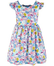 Toddler Girls Printed Dress, Created for Macy's