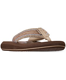 Women's Asana Flip-Flop Thong Sandals from Finish Line