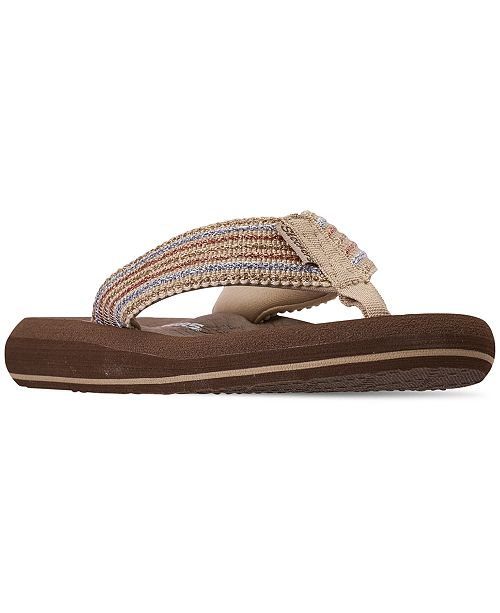024927ebec3a Skechers Women s Asana Flip-Flop Thong Sandals from Finish Line ...