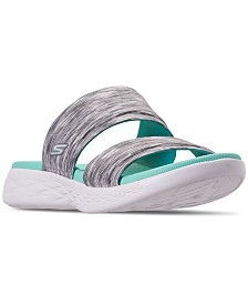 Skechers Women's On The Go 600 - Bedazzling Athletic Sandals from Finish Line