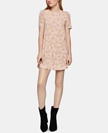 BCBGeneration Floral-Print A-Line Dress