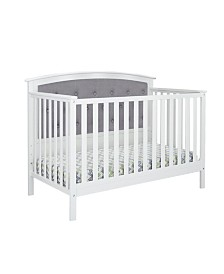 Bentley Tufted Upholstered Convertible Crib