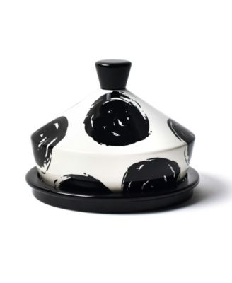 by Laura Johnson Deco Round Butter Dish