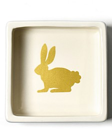 by Laura Johnson Smoke Rabbit Trinket Bowl