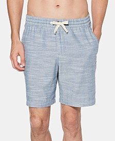 "Original Penguin Men's 6"" Chambray Swim Shorts"