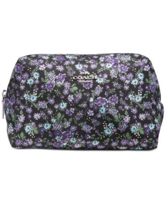 Floral Large Cosmetic Case
