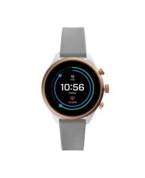 Fossil SMARTWATCH LADIES GRAY SILICONE 41MM