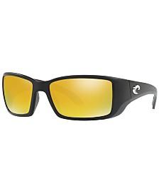 Costa Del Mar Polarized Sunglasses, BLACKFIN 62