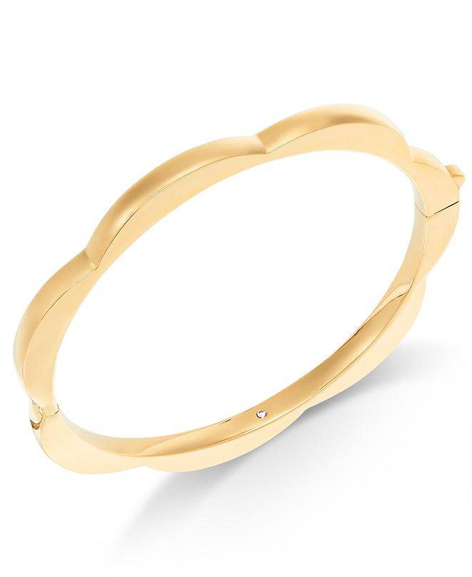 kate spade new york  Scalloped Bangle Bracelet