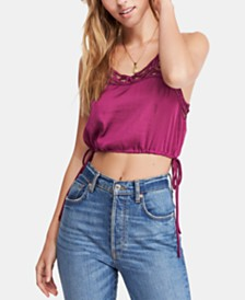 Free People Blouson Brami Cropped Camisole