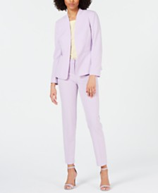 Bar III Bi Stretch Jacket, Solid T Shirt & Bi Stretch Pant, Created for Macy's