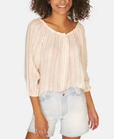 Sanctuary Iris Ballet-Neck Top