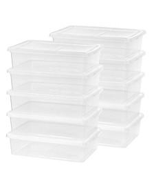 Iris 28 Quart Storage Box, 10 Pack