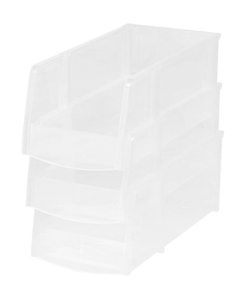 IRIS USA Iris Large Bin, 8 Pack