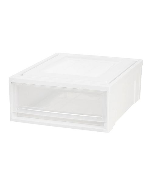 IRIS USA Iris Shallow Box 4 Pack Chest Drawer