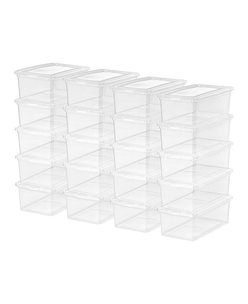 IRIS USA Iris 5 Quart Storage Box, 20 Pack