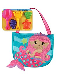 Beach Totes With Sand Toy Play Set