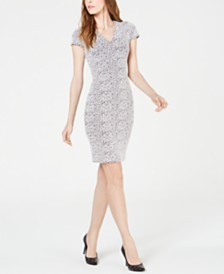 MICHAEL Michael Kors Printed Bodycon Dress