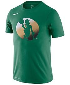 Nike Men's Boston Celtics Dry Mezzo Logo T-Shirt