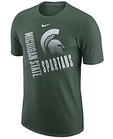 Men's Michigan State Spartans Dri-Fit Cotton Just Do It T-Shirt