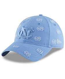 New Era Women's North Carolina Tar Heels Logo Scatter Cap
