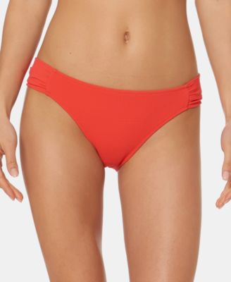 Solid Side Hipster Bikini Bottoms