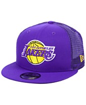 promo code f86e6 5c414 New Era Los Angeles Lakers Nothing But Net 9FIFTY Snapback Cap