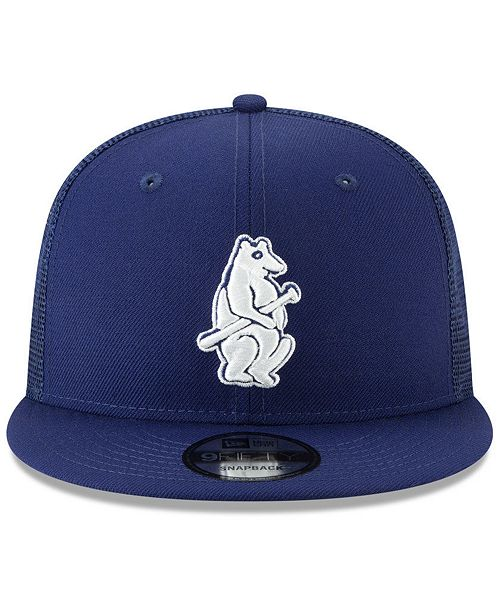New Era Chicago Cubs Coop All Day Mesh Back 9FIFTY Snapback Cap