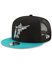 Florida Marlins Coop All Day Mesh Back 9FIFTY Snapback Cap