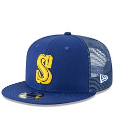 New Era Seattle Mariners Coop All Day Mesh Back 9FIFTY Snapback Cap