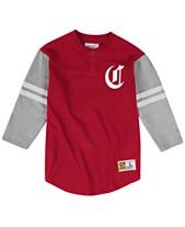 the latest 21f81 e94d4 Mitchell   Ness Men s Cincinnati Reds Heyday Henley T-Shirt