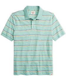 Brooks Brothers Men's Striped Knit Polo