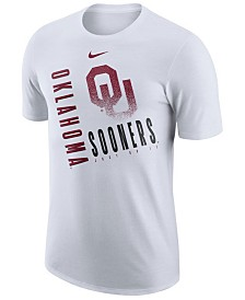 Nike Men's Oklahoma Sooners Dri-Fit Cotton Just Do It T-Shirt