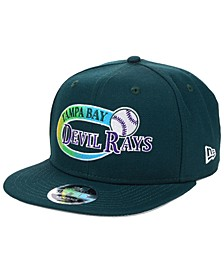 Tampa Bay Rays Swoop 9FIFTY Snapback Cap