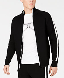 Michael Kors Men's Contrast Stripe Track Jacket
