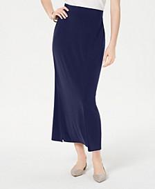Side-Slit Pull-On Skirt, Created for Macy's