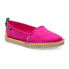Sperry Toddler, Little, & Big Girls Skysail Espadrille in Pineapple