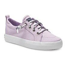 Sperry Little & Big Girls Crest Vibe Sparkle Sneaker