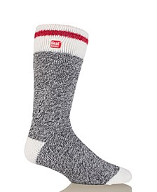 Men's Original Cream Block Twist Thermal Socks