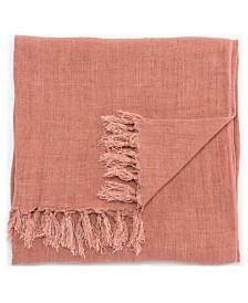"Jaipur Living Lisabet Solid Pink Throw 51"" X 67"""