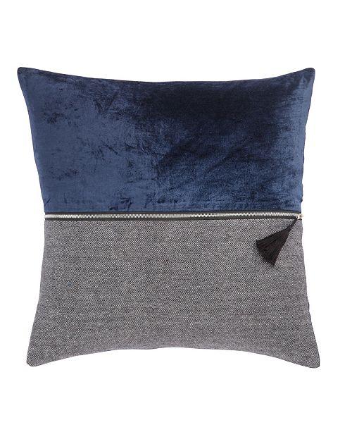 """Jaipur Living Nikki Chu By Kirat Textured Poly Throw Pillow 22"""""""