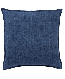 Blanche Solid Poly Throw Pillow 22""