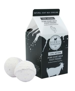 Pure Goat Milk Foot Fizzies 2 Fizzies Per Milk Carton
