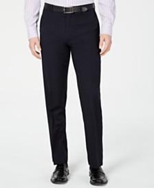 Lauren Ralph Lauren Men's Slim-Fit UltraFlex Navy Solid Suit Pants