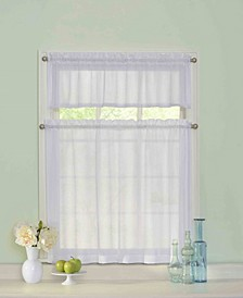"Curtainfresh 56"" x 36"" Tier and Valance Set"