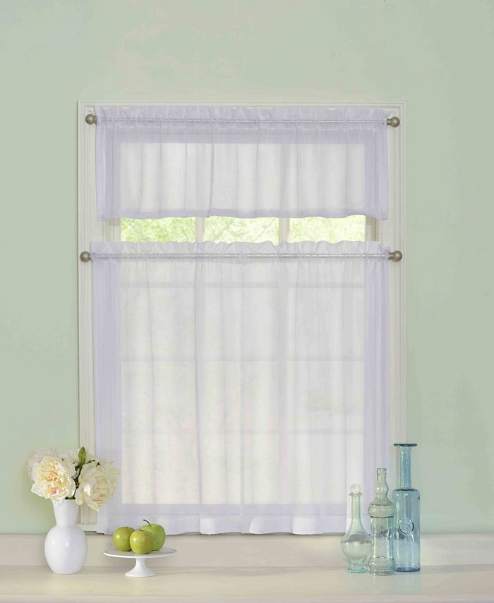 Curtain Fresh - Curtainfresh Tier and Valance Set